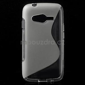 Gélové s-line puzdro pre Samsung Galaxy Ace 4 - transparentný - 1