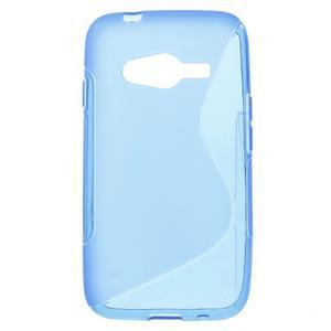 Gélové s-line puzdro pre Samsung Galaxy Ace 4 - modré - 1