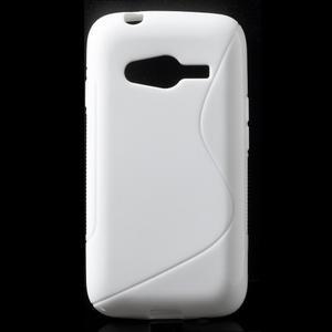 Gélové s-line puzdro na Samsung Galaxy Ace 4 - biele - 1