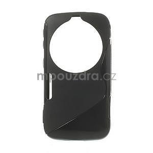 Čierny s-line gélový kryt pre Samsung Galaxy K Zoom C115 - 1