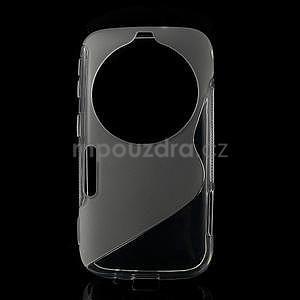Transparentný s-line gélový kryt pre Samsung Galaxy K Zoom C115 - 1