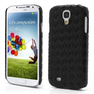 PU kožené pouzdro na Samsung Galaxy S4 - černé - 1