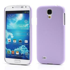 Plastové poudro pre Samsung Galaxy S4 - fialové - 1