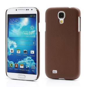 Plastové poudro pre Samsung Galaxy S4 - hnedé - 1