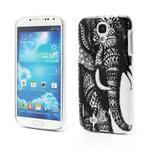 Plastové poudro na Samsung Galaxy S4 - thajský slon - 1/5