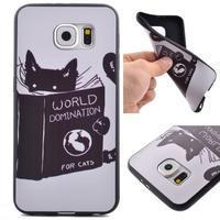 Jells gelový obal na Samsung Galaxy S7 - kočička - 1/6
