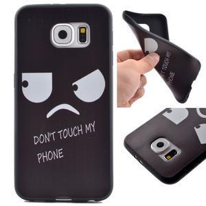 Jells gelový obal na Samsung Galaxy S7 - nedotýkat se - 1