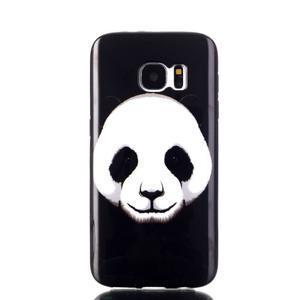 Sally gélový obal pre Samsung Galaxy S7 - panda - 1