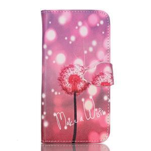 Cross peňaženkové puzdro pre Samsung Galaxy S7 - púpava - 1