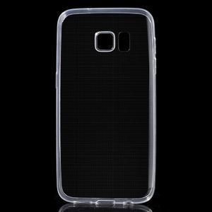 Ultratenký gelový obal na mobil Samsung Galaxy S7 - transparentní - 1