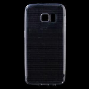 Ultratenký gélový obal pre mobil Samsung Galaxy S7 - šedý - 1