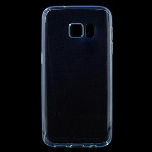 Ultratenký gélový obal pre mobil Samsung Galaxy S7 - zelený - 1
