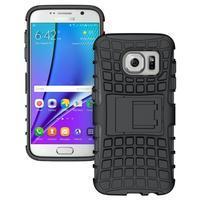 Outdoor odolný obal pre mobil Samsung Galaxy S7 - čierny - 1/5