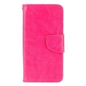 Stand peňaženkové puzdro pre Samsung Galaxy S7 - rose - 1
