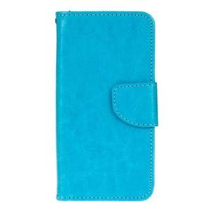 Stand peněženkové pouzdro na Samsung Galaxy S7 - modré - 1