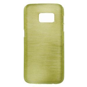 Brush gelový obal na mobil Samsung Galaxy S7 - zelený - 1