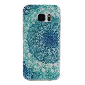 Pictu gélový obal pre mobil Samsung Galaxy S7 - mandala - 1