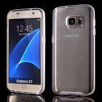 Dvoudílný obal na mobil Samsung Galaxy S7 - transparentní - 1/6