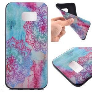 Backy gélový obal pre Samsung Galaxy S7 edge - mandala - 1