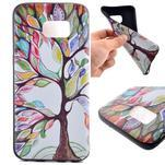 Backy gelový obal na Samsung Galaxy S7 edge - malovaný strom - 1/6