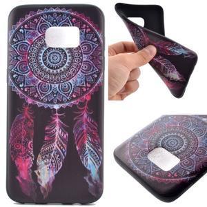 Backy gelový obal na Samsung Galaxy S7 edge - lapač snů - 1
