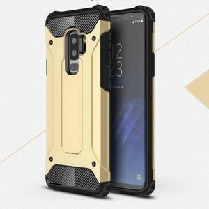 Armory odolný hybridný obal na Samsung Galaxy S9 Plus - zlatý - 1