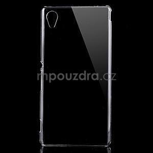 Transparentní plastový obal na Sony Xperia M4 Aqua - 1