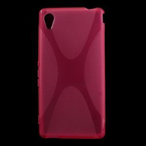 Rose gélový obal pre Sony Xperia M4 Aqua - 1