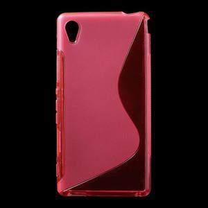 Rose s-line pružný obal pre Sony Xperia M4 Aqua - 1