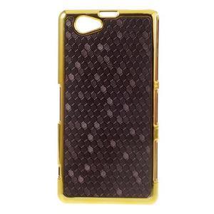 Elegantný obal pre mobil Sony Xperia Z1 Compact - fialový - 1