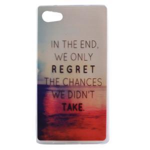 Gelový obal na mobil Sony Xperia Z5 - regret - 1