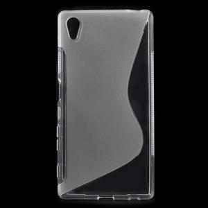 Sline gélový kryt pre mobil Sony Xperia Z5 - transparentné - 1