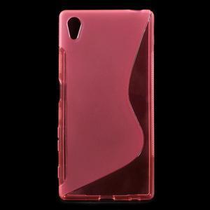 Sline gélový kryt pre mobil Sony Xperia Z5 - rose - 1