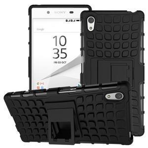 Outdoor odolný obal pre Sony Xperia Z5 - čierny - 1