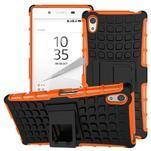 Outdoor odolný obal na Sony Xperia Z5 - oranžový - 1/2