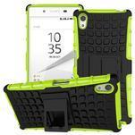 Outdoor odolný obal na Sony Xperia Z5 - zelený - 1/2