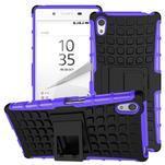 Outdoor odolný obal pre Sony Xperia Z5 - fialový - 1/2