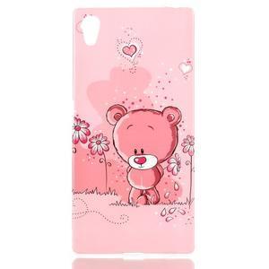 Softy gélový obal pre mobil Sony Xperia Z5 - medvedík - 1
