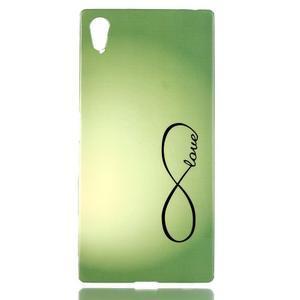 Softy gélový obal pre mobil Sony Xperia Z5 - love - 1