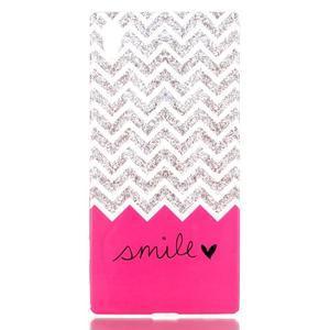 Softy gelový obal na mobil Sony Xperia Z5 - smile - 1