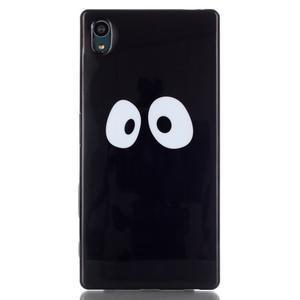 Blacky gélový obal pre mobil Sony Xperia Z5 - kukuč - 1