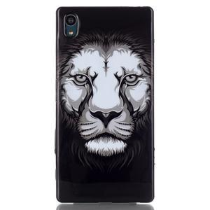Blacky gélový obal pre mobil Sony Xperia Z5 - lev - 1