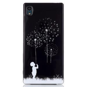 Blacky gelový obal na mobil Sony Xperia Z5 - chlapeček - 1