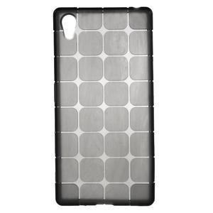 Square gélový obal pre Sony Xperia Z5 - sivý - 1