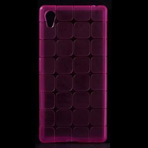 Square gélový obal pre Sony Xperia Z5 - rose - 1