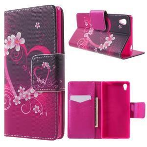 Lovely puzdro pre mobil Sony Xperia Z5 - srdce - 1