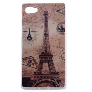 Gélový obal pre mobil Sony Xperia Z5 - Eiffelova veža - 1