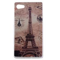 Gélový obal pre mobil Sony Xperia Z5 - Eiffelova veža - 1/4