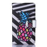 Sand pouzdro na mobil Sony Xperia Z5 Compact - barevný ananas - 1/5