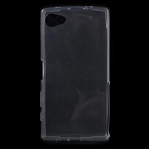 Ultratenký slim gelový obal na Sony Xperia Z5 Compact - transparentní - 1